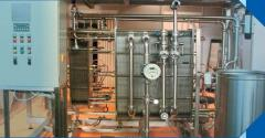 System of automatic control of pasteurization