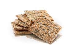 Biscuits with sesame seeds with Grain