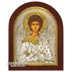 Icon the Guardian angel Greek with silver,