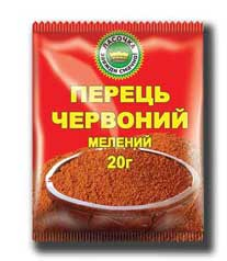 Pepper of red ground 20 g