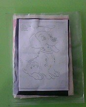 Набор для ковровой вышивки ( 1 игла)