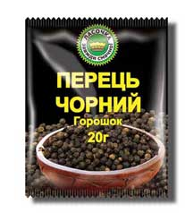 Pepper black peas of 20 g