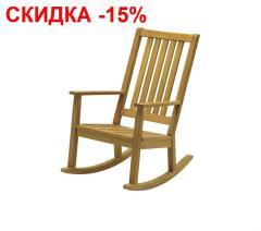Кресло качалка, массив тика