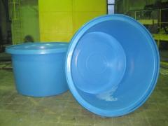 Pool volume, round for fish breeding, 5,4m3