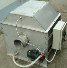 Mechanical drum self-washing filter 40 of m3/h