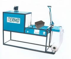 Thermopacking machine of deadlock type with the