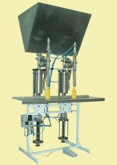 The dual semi-automatic doser for liquid and pasty