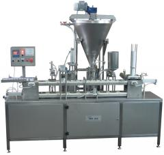 The automatic machine for dosing and packaging of