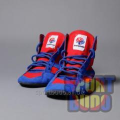 Bortsovki, footwear for sambo, the license of
