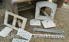 Molding for furnaces