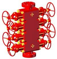 Preventer die hydraulic koltyubingovy PPGK-80h70