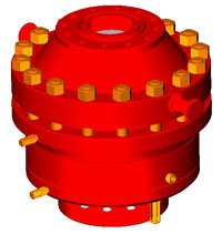 Annular preventer hydraulic PKG