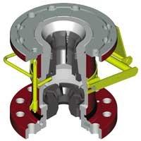 Capture wedge the rotating managed ZKVU1M