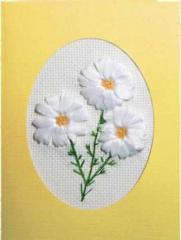 Set for an embroidery Camomile tapes