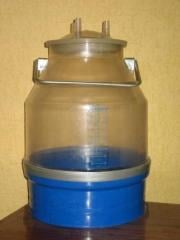 Can from food polycarbonate 22 liters