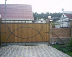 Дизайнерские откатные ворота