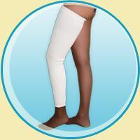 Bandage cotton, universal for a leg