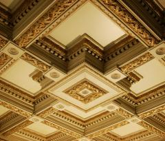 Decorative ceilings, Decorative ceilings from the
