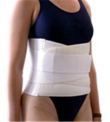 Belt protivoradikulitny with stiffening ribs