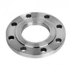 Flange steel flat welded Dy 125 of mm weight