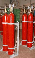 Модули - Установка газового пожаротушения МГП-2-60