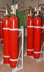 Модули газового пожаротушения МГП-2-60,