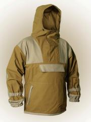 The Gorka-M jacket, Suits with heating for