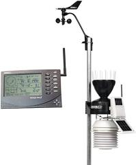 Davis 6153 the Meteorological station of Vantage Pro2 (Davis Instruments), wireless with the fan for a 24-hour obduv of sensors