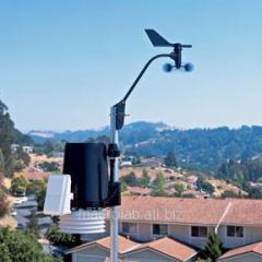 Davis 6162C the Meteorological station of Vantage Pro2 Plus (Davis Instruments), cable, including sensors of solar radiation and solar activity (ultraviolet)