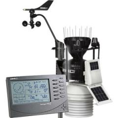 Davis 6163 the Meteorological station of Vantage Pro2 Plus (Davis Instruments), wireless, including sensors of solar radiation and solar activity (ultraviolet) with the fan for a 24-hour obduv of sensors