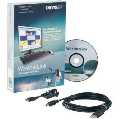 6510USB WeatherLink Program Davis meteorológi