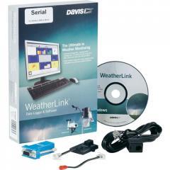 Davis 6510 SER WeatherLink Program for a meteorological station of Vantage Pro2 and Vantage Vue (Davis Instruments), SER connection