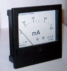 EA0302/1 ampermeter analog of E365