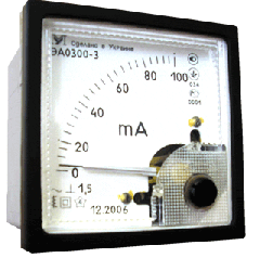 EA0300 alternating-current ammeters