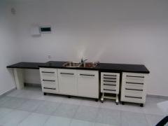 Furniture set of the dentist. Full set of modules.