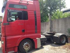Spare parts to trucks