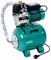 Household pumps for increase of pressure of Jet WJ