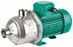 Household pump installations for increase of