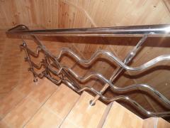 Поручни ограждения для лестниц