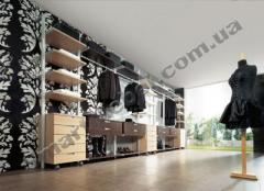 Clothes on aluminum racks of Artikul:s26