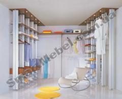 Clothes on aluminum racks of Artikul:s1