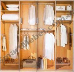 Clothes on aluminum racks of Artikul:s13
