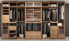 Clothes on aluminum racks of Artikul:s11