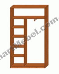 S512 sliding wardrobe
