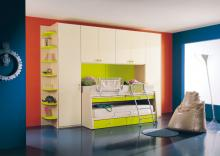 Horizontal a case bed for the nursery the Article: