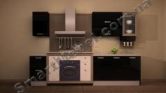 Кухня, шпонированый МДФ фасад Артикул: S211