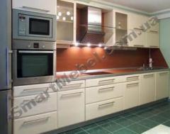 Кухня, крашеный МДФ фасад Артикул: S162