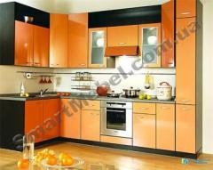 Kitchen, colored MDF facade Article: S164