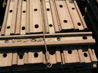 Накладка 2Р-65, производство железнодорожного костыля, плоской шайбы, изовтулки