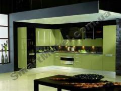 Кухня, крашеный МДФ фасад Артикул: S187